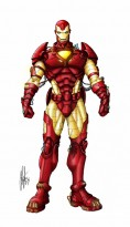Iron Man by ClayDaddy