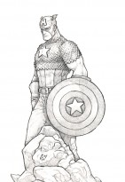 Captain America by ClayDaddy